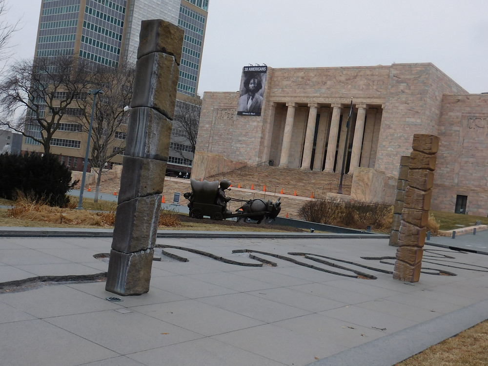 Joslyn Art Museum and Sculpture Garden in Omaha