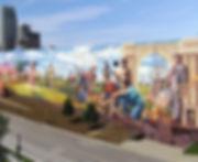 downtown omaha art mural