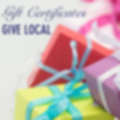 local gift certificates