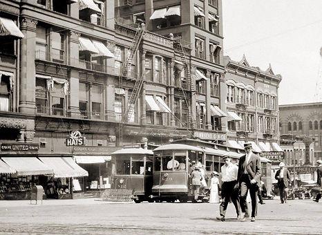 historic omaha street