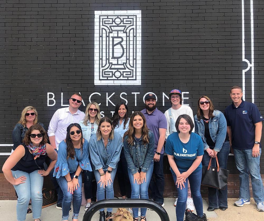 builder trend team outing with nebraska tour company