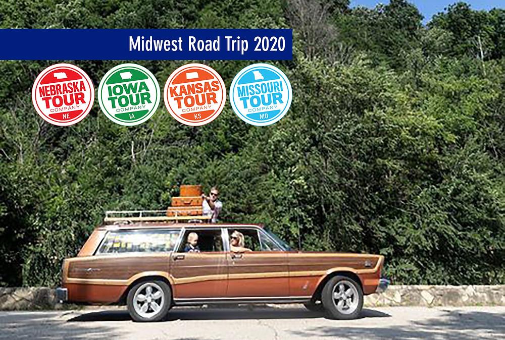 midwest road trip car