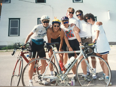 bicycle group from tour de nebraska