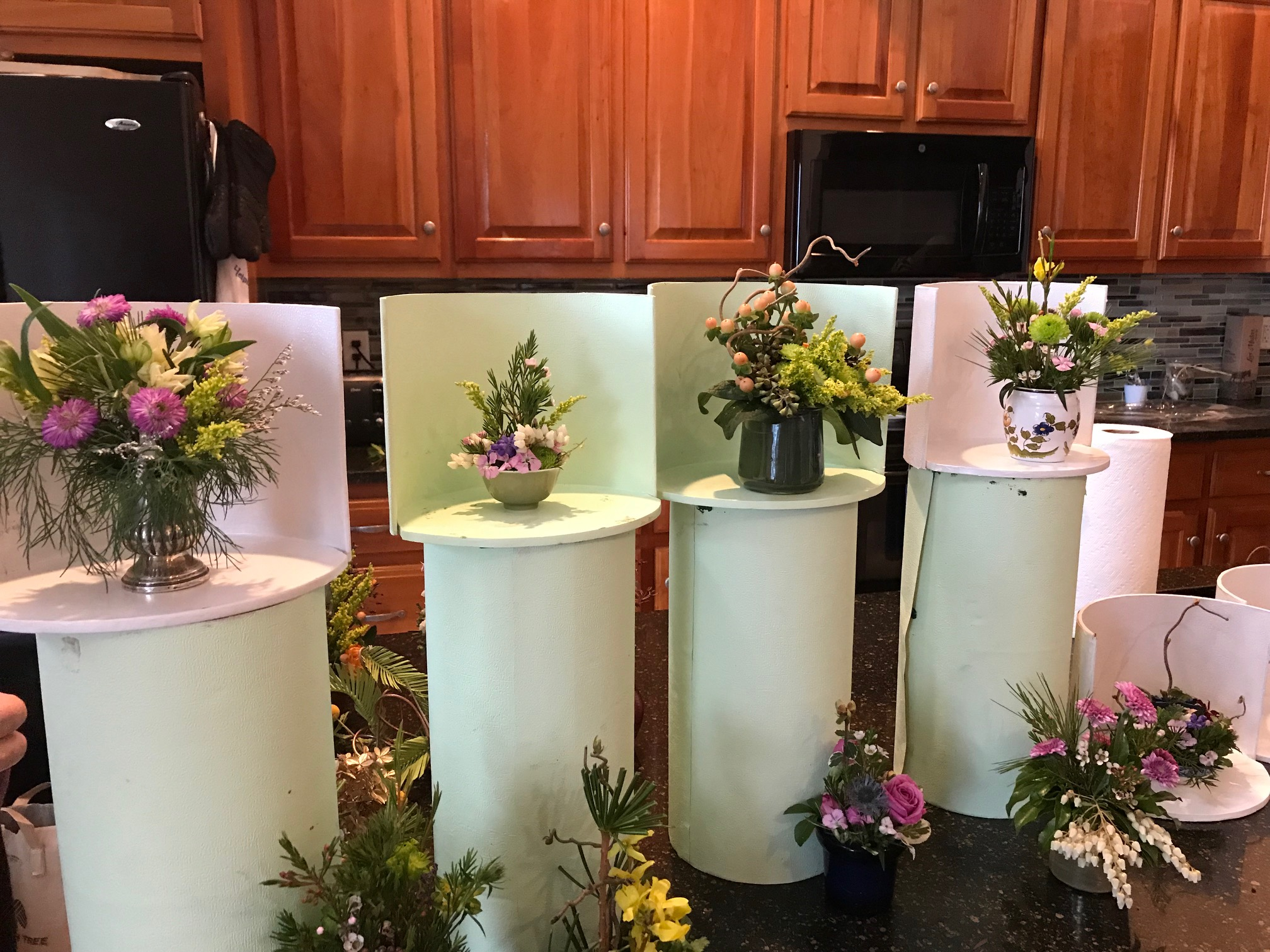 Floral Design Workshop April, 2019