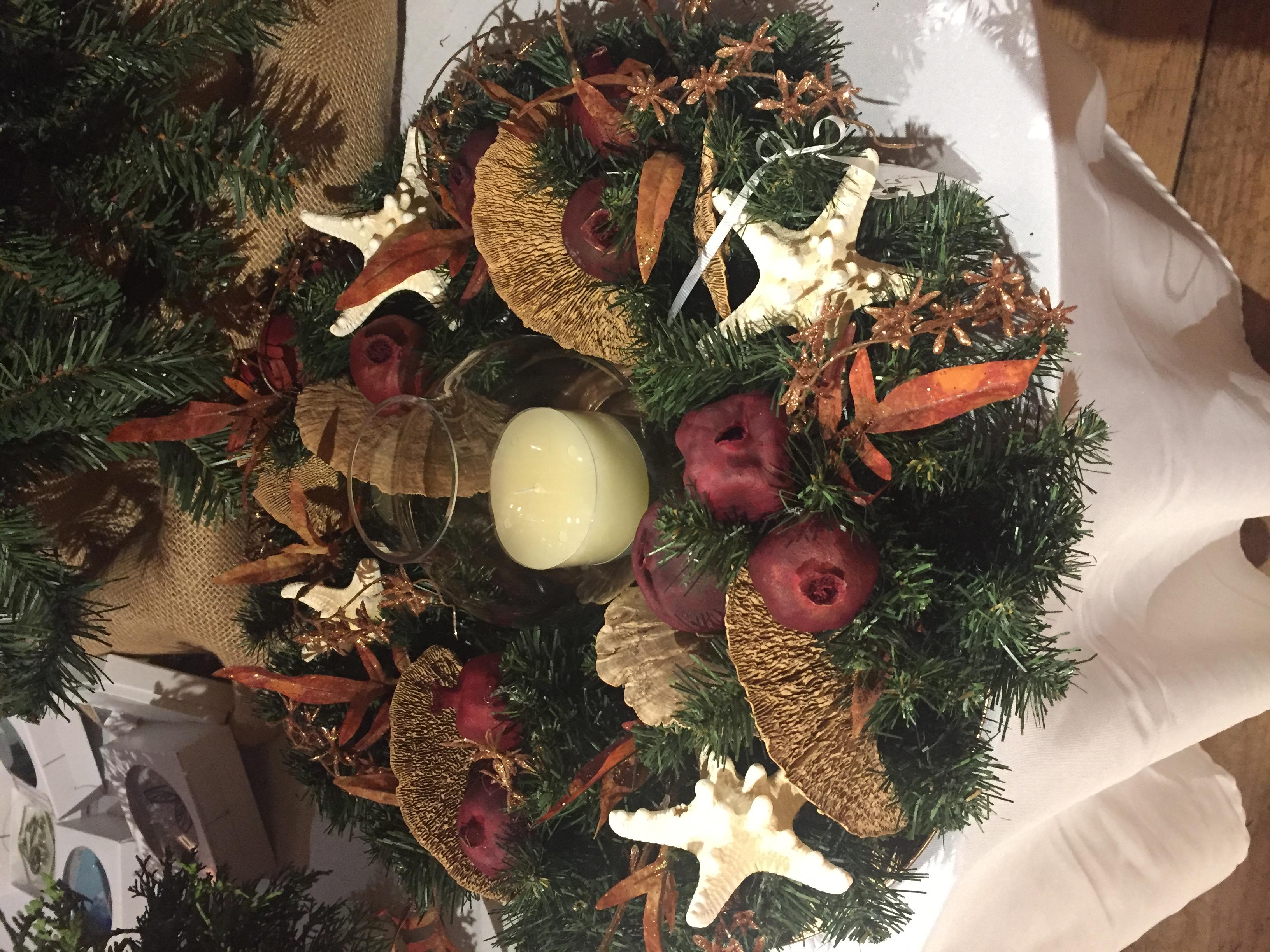 Holiday Market Wreath December 2019