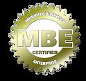 Minority Business Enterprise Certification, (MBE)