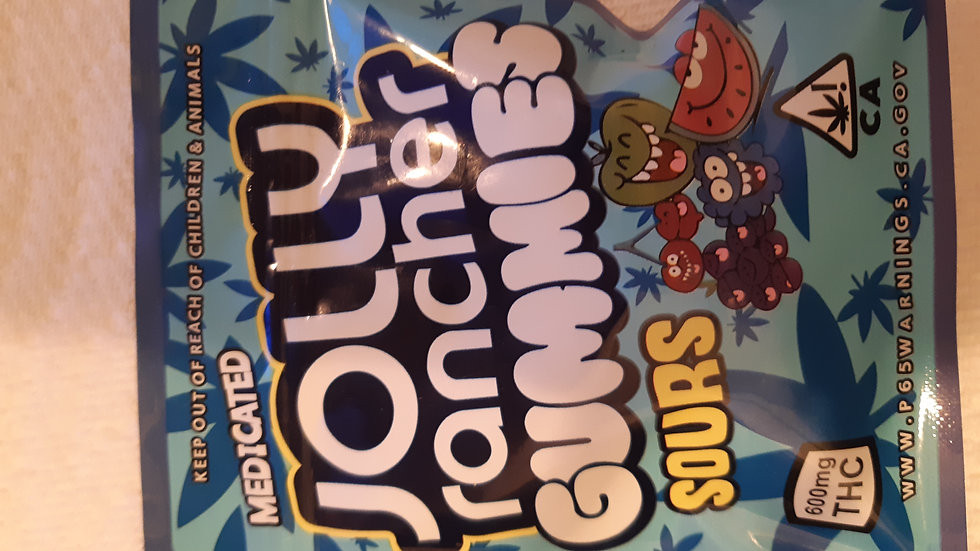 Jolly Rancher Gummies 600mg Thc