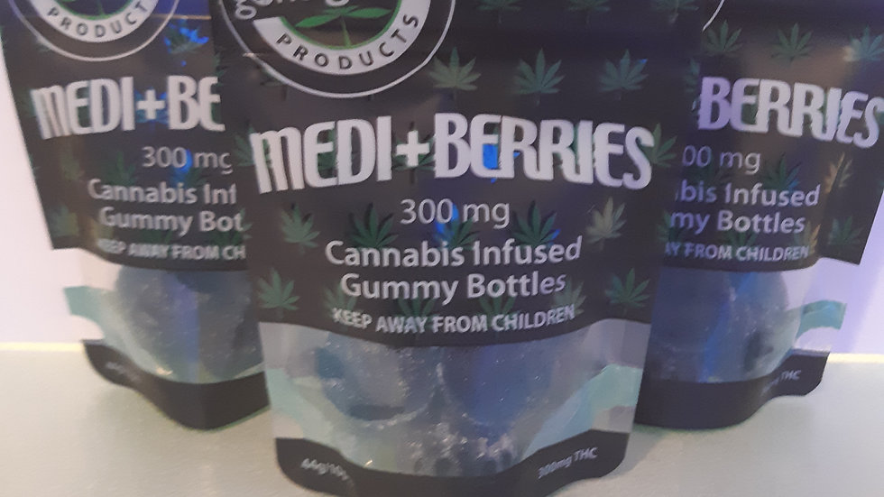 Blue Raspberry Medi-Berries