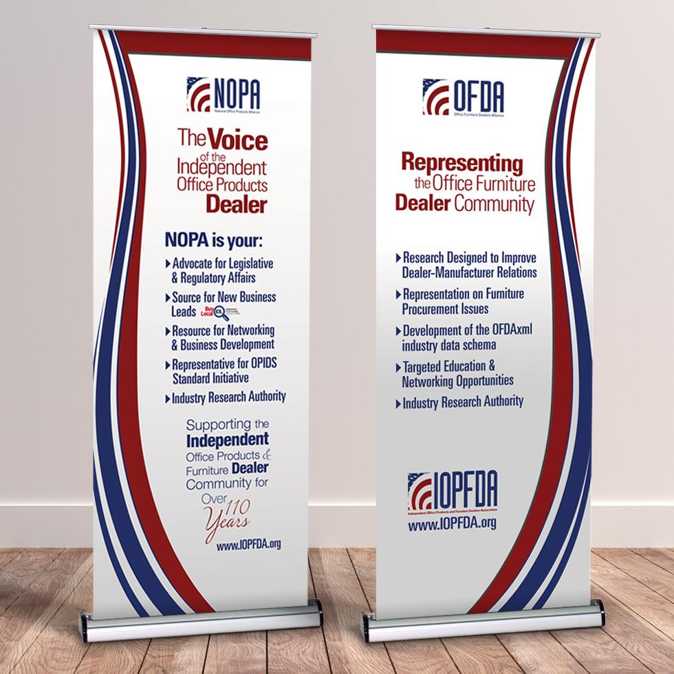 NOPA & OFDA Banners