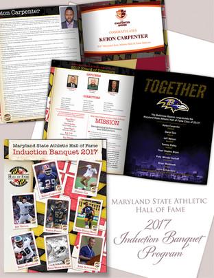 MDSAHOF 2017 Induction Banquet Program