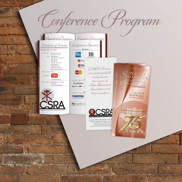 CONFERENCE PROGRAMS