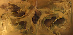 Golden Cavern #2  24x48x1.4  Bobbie(Barbara)