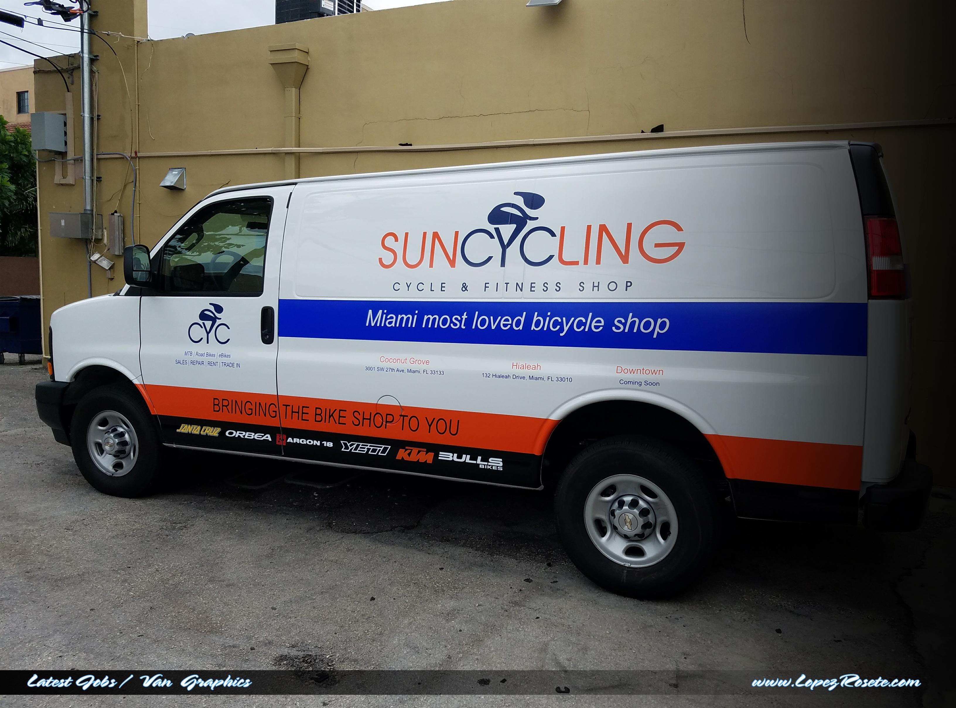 SunCyclingVan