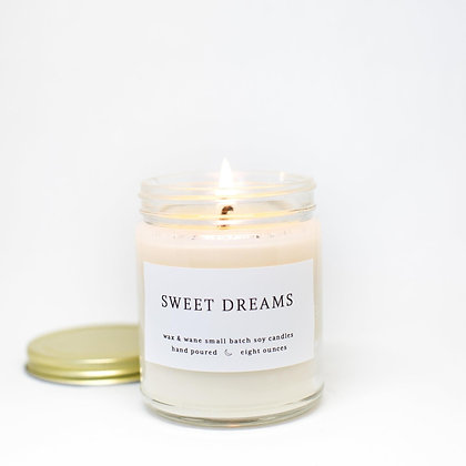 Sweet Dreams Lavender Modern Soy Candle