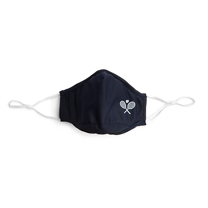 Ame & Lulu Cool Fit Tennis Mask, Navy