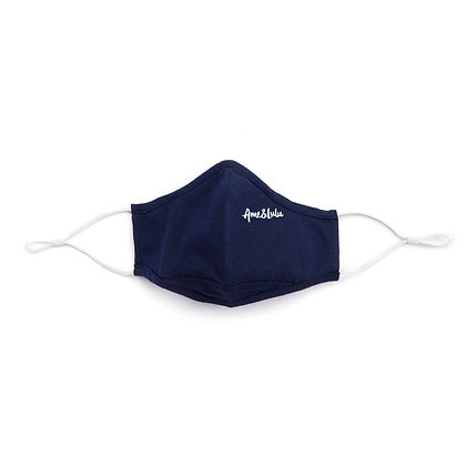 Ame & Lulu Cool Fit Face Mask, Navy