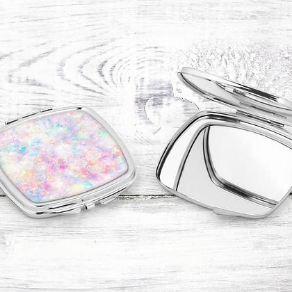 Iridescent Compact Mirror