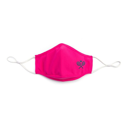 Ame & Lulu Cool Fit Tennis Mask, Pink
