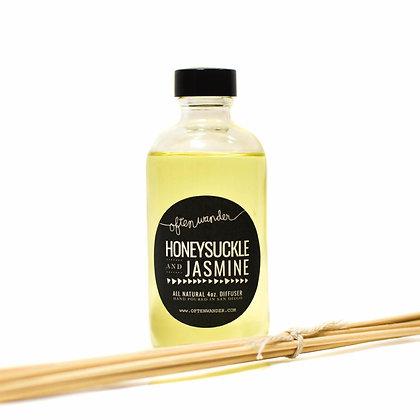 Reed Diffusers – Honeysuckle and Jasmine – 4 oz.