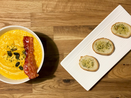 Potage butternut-coco
