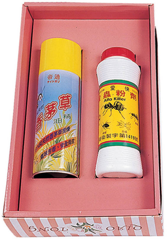 K08 噴霧香茅草油+殺蟲粉劑