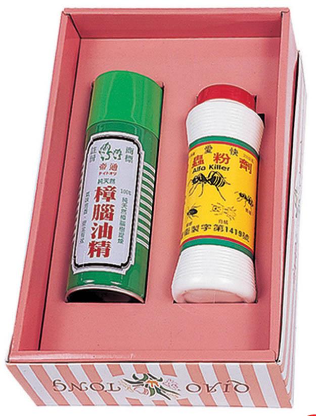 K02 噴霧香茅草油+殺蟲粉劑