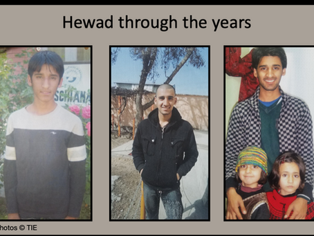 HEWAD'S PATH TO SUCCESS!