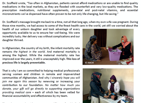 Support healthcare for children in Afghanistan and help Children smile again!