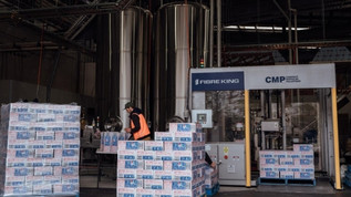 Capital Brewing Co's end of line automation upgrade doubles product output to meet demand in prepara