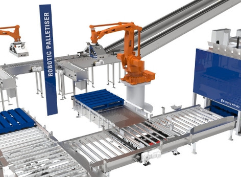 Fibre King's Robot Palletising Solutions Address Multiple Sku's Within Tight Spaces.