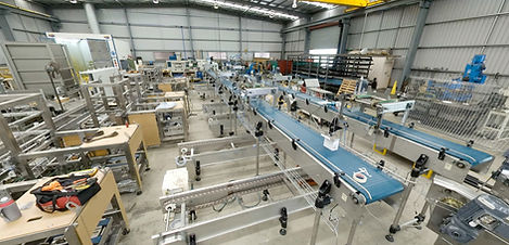 Manufacturing facility for packaging machinery