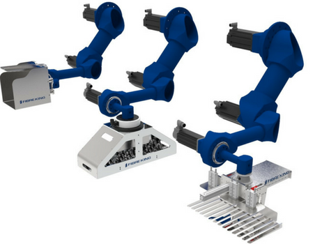 Fibre King's latest Innovation: 3-Axis Robot Arm Case Packer.