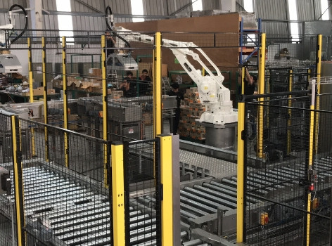 Nestlé Smithtown's Robotic Palletising and Conveying Solution delivered by Fibre King ticks all