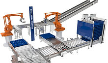 robotic meat and poultry palletiser