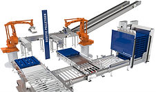 robotic palletisers for the brewery industry