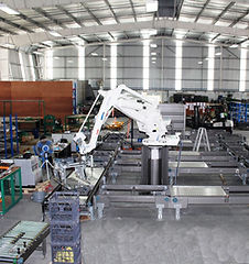 Fibre King robotic Palletiser in Thailand