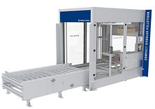 compact, affordable palletiser for breweries