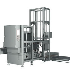 Crate automation equipment for fresh produce industry