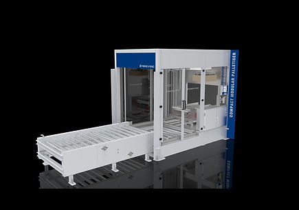 Affordable, compact palletiser