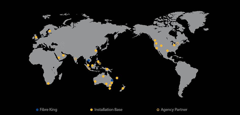 Fibre Kings Global Presence