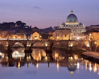 We gaan naar Rome! Andiamo a Roma!
