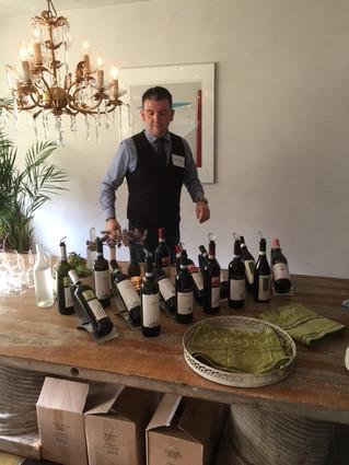 La degustazione dei vini piemontesi