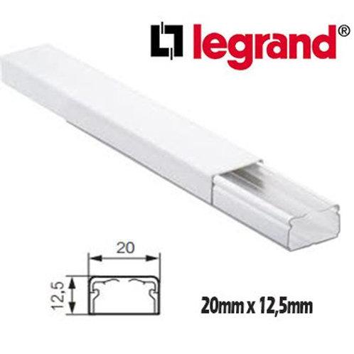 CANALETA 20X12.5MM X 2MTS LG30008