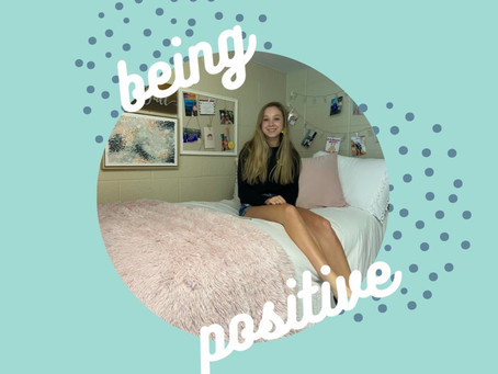 Staying positive during tough times