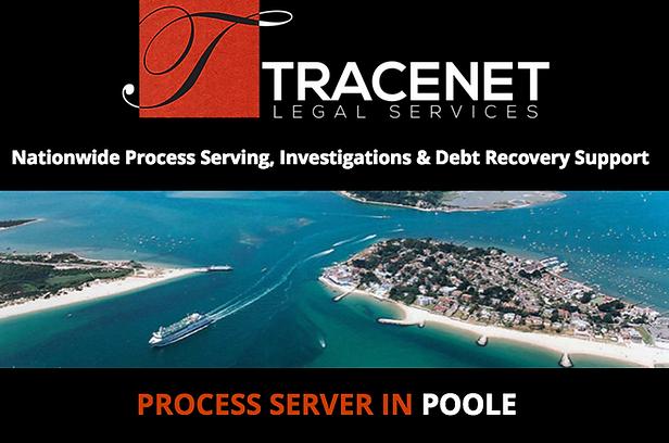 Award Winning, Process Server in Poole, Dorset