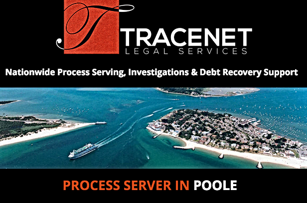 Award Winning, Process Server in Poole, Dorset