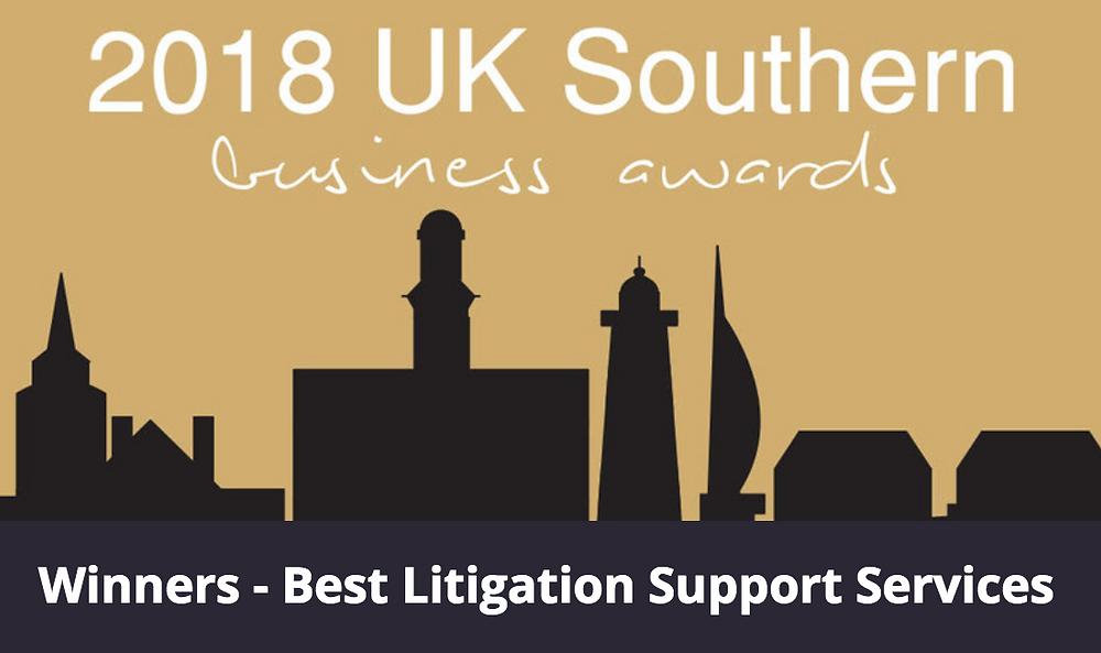 Best Litigation Support Services 2018 - SME Southern Business Awards