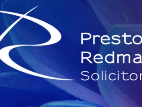 New Testimonial - Tim Flower, Preston Redman Solicitors