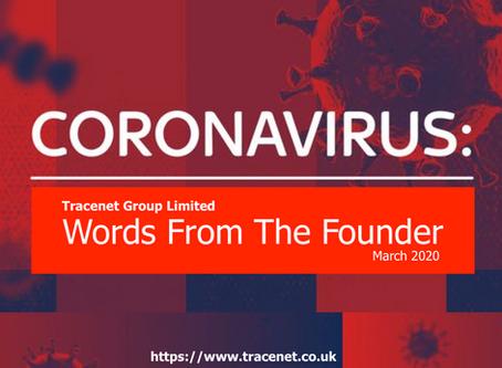 Coronavirus & Words From The Founder