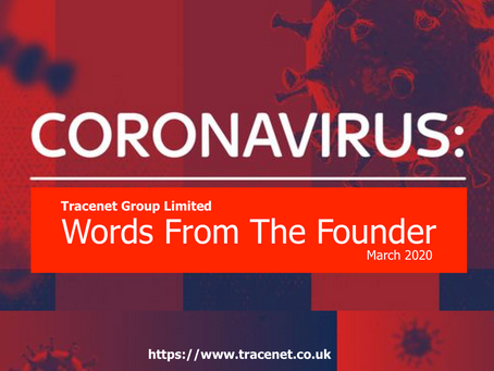 Coronavirus & Words From The Founder